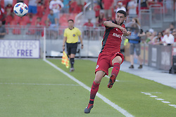 August 12, 2018 - Toronto, Ontario, Canada - MLS Game at BMO Field 2-3 New York City. IN PICTURE: JONATHAN OSORIO (Credit Image: © Angel Marchini via ZUMA Wire)