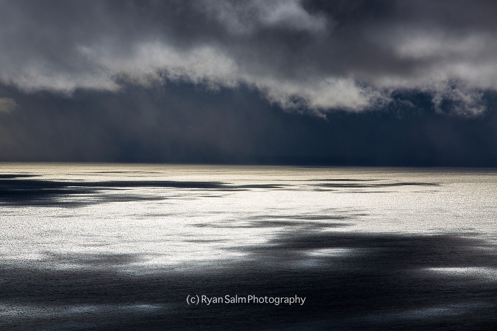 """""""The Abyss""""<br /> <br /> A wet winter storm gathers over Lake Tahoe bringing a mix of heavy rain and high mountain snow."""