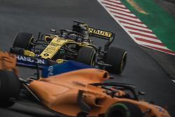 March 1, 2018 - Barcelona, Catalonia, Spain - NICO HULKENBERG (GER) drives in his Renault RS18 during day four of Formula One testing at Circuit de Catalunya (Credit Image: © Matthias Oesterle via ZUMA Wire)