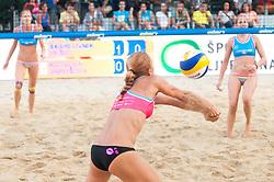 Jelena Pesic at Beach Volleyball Challenge Ljubljana 2014, on August 2, 2014 in Kongresni trg, Ljubljana, Slovenia. Photo by Matic Klansek Velej / Sportida.com