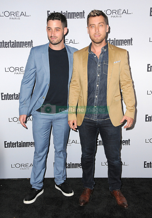 Lance Bass, Michael Turchin bei der 2016 Entertainment Weekly Pre Emmy Party in Los Angeles / 160916<br /> <br /> ***2016 Entertainment Weekly Pre-Emmy Party in Los Angeles, California on September 16, 2016***
