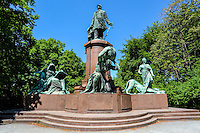 Berlin, Germany. The Bismarck Memorial located in the Tiergarten.