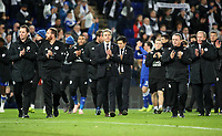 Leicester City manager Claude Puel <br /> <br /> Photographer Rachel Holborn/CameraSport<br /> <br /> The Premier League - Saturday 10th November 2018 - Leicester City v Burnley - King Power Stadium - Leicester<br /> <br /> World Copyright © 2018 CameraSport. All rights reserved. 43 Linden Ave. Countesthorpe. Leicester. England. LE8 5PG - Tel: +44 (0) 116 277 4147 - admin@camerasport.com - www.camerasport.com