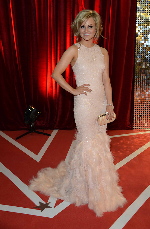 British soap awards , at ITV in Manchester . pictured  tina o brien   PIC Dave Nelson