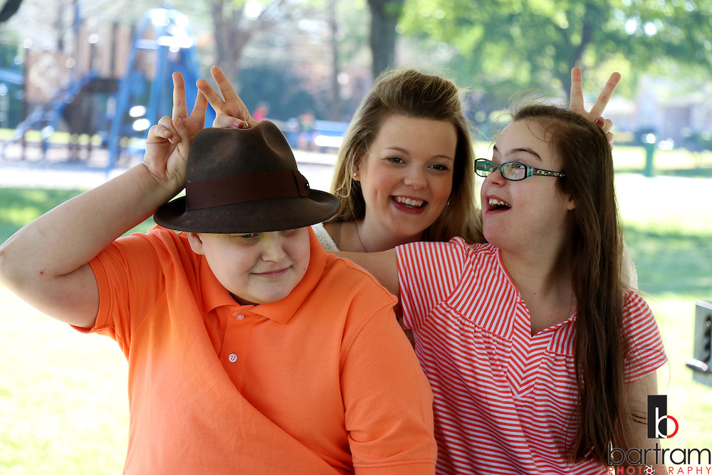 Jennifer Andrick and her family on Saturday, April 2, 2016 in Plano, Texas. (Photo by Melinda Haggerty)