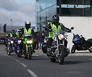 NO FEE PICTURES.5/5/13 On Saturday May 4th, the 8th Annual Rev-up4DSI motorcycle challenge in aid of Down Syndrome Ireland departed Joe Duffy BMW in Dublin, bound for Donegal. Picture:Arthur Carron Photography