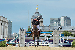 Charles Peter (GBR) - Murka's Vindicat W<br /> Olympic Games London 2012<br /> © Dirk Caremans