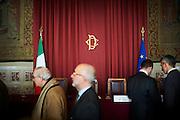 Sala della Regina di Palazzo Montecitorio, Roma 11 marzo 2015.  Christian Mantuano / OneShot <br /> <br /> The Hall of the Queen of Palazzo Montecitorio. Rome 11 March 2015. Christian Mantuano / OneShot