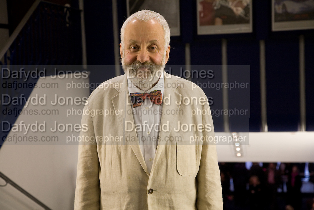 MIKE LEIGH, Happy-Go-Lucky directed by Mike Leigh film premiere at the Odeon, Camden. Afterwards party at The Proud Gallery, Camden. London. 14 April 2008.  *** Local Caption *** -DO NOT ARCHIVE-© Copyright Photograph by Dafydd Jones. 248 Clapham Rd. London SW9 0PZ. Tel 0207 820 0771. www.dafjones.com.