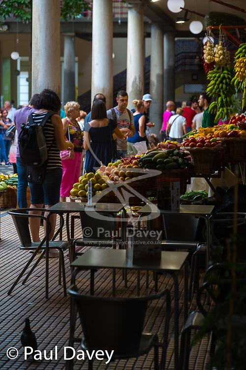 Mercado dos Lavradores, Madeira. MADEIRA, September 25 2018. © Paul Davey