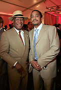 Howard Dodson, Schomburg Center and Scott Tucker, Iscdesignconcepts, at The Apollo Theater 4th Annual Hall of Fame Induction Ceremony & Gala with production design by In Square Circle Design Concepts, held at The Apollo Theater on June 2, 2008