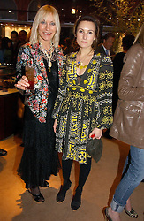 Left to right, VIRGINIA BATES and her daughter DAISY BATES at a party to celebrate 100 years of Chinese Cinema hosted by Shangri-la Hotels and Tartan Films at Asprey, New Bond Street, London on 25th April 2006.<br /><br />NON EXCLUSIVE - WORLD RIGHTS