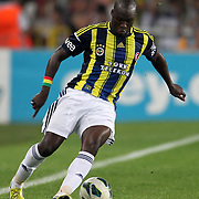 Fenerbahce's Moussa Sow during their Turkish Superleague soccer derby match Fenerbahce between Besiktas at Sukru Saracaoglu stadium in Istanbul Turkey on Sunday 07 October 2012. Photo by TURKPIX