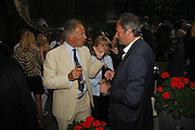 The Marquess of Reading and William Cash, Tatler Summer party ( in association with Fendi) Home House, Portman Sq. 29 June 2006. ONE TIME USE ONLY - DO NOT ARCHIVE  © Copyright Photograph by Dafydd Jones 66 Stockwell Park Rd. London SW9 0DA Tel 020 7733 0108 www.dafjones.com