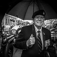 Veteran gather for the 2016 ANZAC Day in Perth Western Australia.