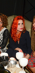 Centre, PALOMA FAITH at a party hosted by Beats by Dre to celebrate the launch of Tinie Tempah's new album and to celebrate his birthday held at DSTRKT, Rupert Street, London on 7th November 2013.