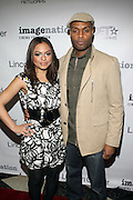 Davida Williams and Benton Greene at The ImageNation celebration for the 20th Anniversary of ' Do the Right Thing' held Lincoln Center Walter Reade Theater on February 26, 2009 in New York City. ..Founded in 1997 by Moikgantsi Kgama, who shares executive duties with her husband, Event Producer Gregory Gates, ImageNation distinguishes itself by screening works that highlight and empower people from the African Diaspora.