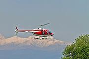 Vigili del Fuoco VF 80 Agusta A109 Power Helicopter at Milan - Malpensa (MXP / LIMC) Italy