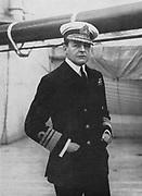 David Beatty, 1st Earl Beatty (1871-1936) British naval commander, World War I; Battle of Jutland, 31 May 1916; Commander-in-chief Grand Fleet 1916; First Sea Lord 1919