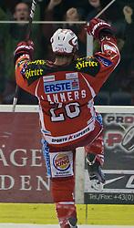 18.11.2011, Stadthalle, Klagenfurt, AUT, EBEL, EC KAC vs EHC LIWEST BLACK WINGS LINZ, im Bild John Lammers (Kac, #20), EXPA Pictures © 2011, PhotoCredit: EXPA/ Gert. Steinthaler