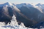 Echo hut in Central Balkan at winter