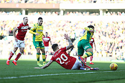 Jamie Paterson of Bristol City puts in a tackle - Mandatory by-line: Arron Gent/JMP - 23/02/2019 - FOOTBALL - Carrow Road - Norwich, England - Norwich City v Bristol City - Sky Bet Championship