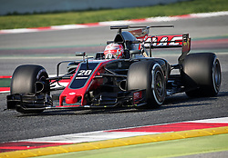 February 27, 2017 - Barcelona, Spain - The Haas of Kevin Magnussen during the Formula 1 tests held in the Barcelona-Catalunya Circuit, on february 27, 2017. Photo: Urbanandsport/Nurphoto  (Credit Image: © Jordi Galbany/NurPhoto via ZUMA Press)