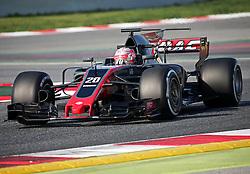 February 27, 2017 - Barcelona, Spain - The Haas of Kevin Magnussen during the Formula 1 tests held in the Barcelona-Catalunya Circuit, on february 27, 2017. Photo: Urbanandsport/Nurphoto  (Credit Image: © Jordi Galbany/NurPhoto via ZUMA Press)