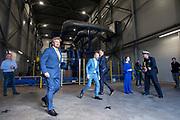 DELFZIJL, 24-09-2020, Purified Metal Company<br /> <br /> Koning Willem Alexander tijdens de opening in Delfzijl van de Purified Metal Company, een recyclingfabriek voor vervuild staal.<br /> <br /> King Willem Alexander during the opening in Delfzijl of the Purified Metal Company, a recycling plant for contaminated steel.