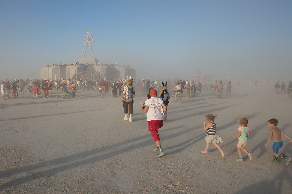 Bunny March My Burning Man 2018 Photos:<br />
