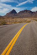 Arizona, Route 66, west of Oatman, Boundary Cone mountain