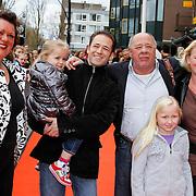 NLD/Amsterdam/20120401 - Premiere de Lorax, Frits Lambrechts met familie