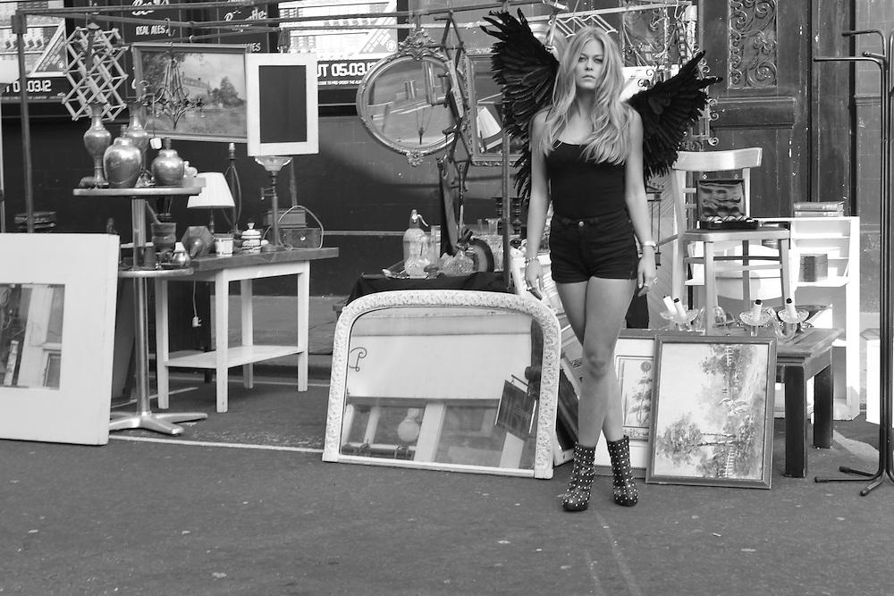 Angel of Portobello, Rianna Goss. Longlisted for the Aesthetica Art Prize 2013.
