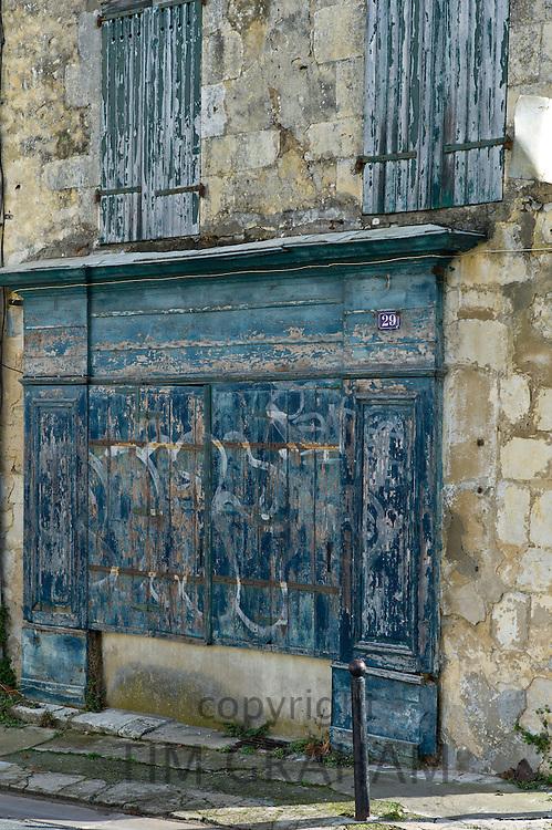 Street scene at St Martin de Re,  Ile de Re, France