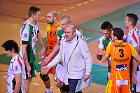 Olivier LECAT  - 13.12.2014 - Tourcoing / Montpellier - 11eme journee de Ligue A<br /> Photo :  Dave Winter / Icon Sport *** Local Caption ***