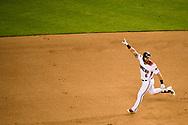PHOENIX, AZ - AUGUST 6: The D-backs defeat the Phillies 3-2. (Photo by Sarah Sachs/Arizona Diamondbacks)