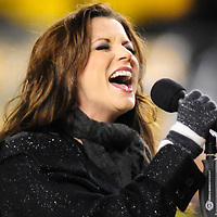the AFC Championship game at Heinz Field  in Pittsburgh on January 18, 2009.            (UPI Photo/Archie Carpenter)