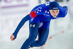 11-12-2016 NED: ISU World Cup Speed Skating, Heerenveen<br /> Heather Bergsma USA pakt goud op de 1000 m