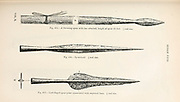 selection of various Viking spears and Spearheads from the book '  The viking age: the early history, manners, and customs of the ancestors of the English speaking nations ' by Du Chaillu, (Paul Belloni), 1835-1903 Publication date 1889 by C. Scribner's sons in New York,