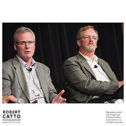 Steve Maharey;Rick Friesen at the Spada Conference 06 at the Hyatt Regency Hotel, Auckland, New Zealand.<br />