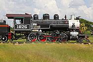 Old train in Ciego de Avila, Cuba.