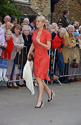 EMMA PARKER BOWLES at the wedding of Laura Parker Bowles to Harry Lopes held at Lacock, Wiltshire on 6th May 2006.<br />