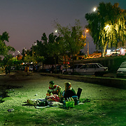 During the extreme summer heat temperature go well over 50 degrees C (over 125 Farenheit). Families and friends gather for picnics at night along the relatively cool Dez river. The city of Dezful is located at the foot of the Zagros Mountains and has a history that dates back to the Sassanian era. The area around Dezful has been home to civilizations for 5000 years.<br /> <br /> Travelling over 4000km by train across Iran. An opportunity to enjoy Persian hospitality, discover Iran's ancient cities and its varied landscapes, from deserts to mountains.