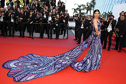 Cannes Long Gowns - Aishwarya Rai attends the screening of 'Girls Of The Sun (Les Filles Du Soleil)' during the 71st annual Cannes Film Festival at Palais des Festivals on May 12, 2018 in Cannes, France. Photo by ShootPix/ABACAPRESS.COM