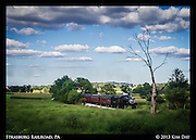 Through The Countryside<br /> Strasburg Train, PA<br /> August 2013