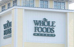 Aug 17, 2008 - Hingham, Massachusetts, USA - Whole Foods Market is a food retailer of 'natural' and organic products, including produce, seafood, grocery, meat and poultry, bakery, prepared foods and catering, beer, wine, cheese, whole body, floral, pet products, and household products. The company is well known and respected for its ethical standards and social responsibility.  (Credit Image: © Seamas Culligan/ZUMA Press)