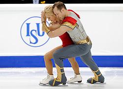 23.03.2010, Torino Palavela, Turin, ITA, ISU World Figure Skating Championships Turin 2010, Paarlauf, im Bild Maylin Hausch and Daniel Wende (GER), EXPA Pictures © 2010, PhotoCredit: EXPA/ InsideFoto/ Perottino / SPORTIDA PHOTO AGENCY