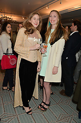 VIOLET DELACHEROIS-DAY and FLORENCE HOUSTON at the launch of Mrs Alice in Her Palace - a fashion retail website, held at Fortnum & Mason, Piccadilly, London on 27th March 2014.