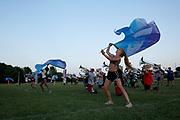 Shadow Drum and Bugle Corps practices in Oregon, Wisconsin on August 1, 2019. <br /> <br /> Beth Skogen Photography - www.bethskogen.com