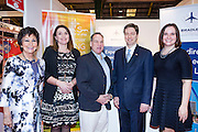27/1/16 US Chargé d'affaires Reece Smyth Connecticut Tourism stand at the Holiday World Show 2017 at the RDS Simmonscourt in Dublin. Picture: Arthur Carron